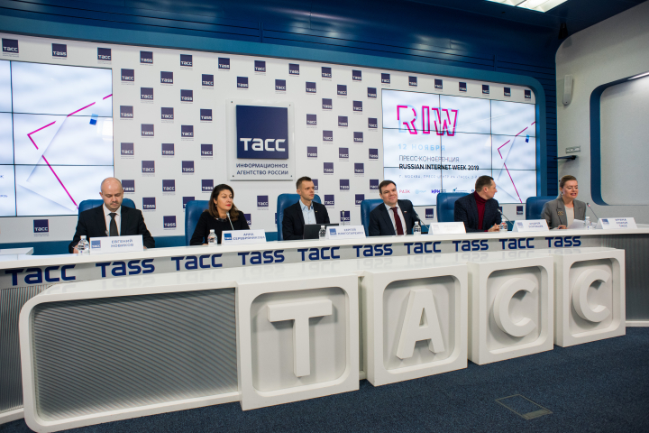 Леонид Левин принял участие в пресс-конференции, посвященной «Неделе Российского Интернета»