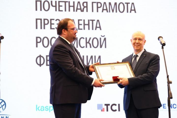 Член Правления РОЦИТ Марк Твердынин награжден Почетной грамотой Президента Российской Федерации